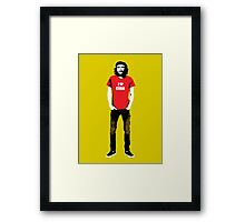 Hipster Che Guevara Framed Print