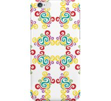 Swirly Frame iPhone Case/Skin