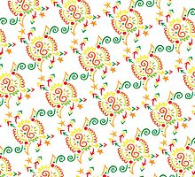 Fireworks Pattern by Wealie