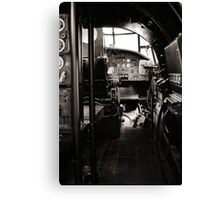 The Lancaster Within (Black and White) Canvas Print