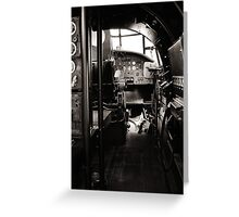 The Lancaster Within (Black and White) Greeting Card