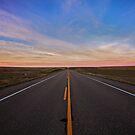 Wide Open Road by Rick Louie