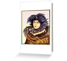 Lady Fantasy Greeting Card