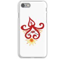 Calligraphic Motif iPhone Case/Skin