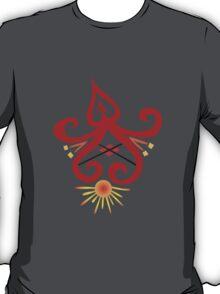 Calligraphic Motif T-Shirt