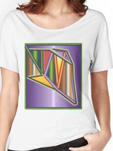 GRADIENT  ART Women's Relaxed Fit T-Shirt