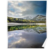 Silver Lake Flat Reservoir, Utah Poster