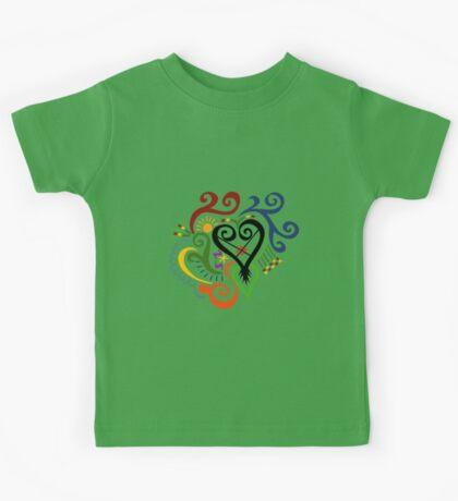 Calligraphic Motif Kids Tee
