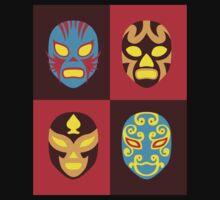 Mexican Wrestling Masks, Luchador Kids Tee