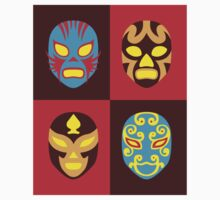 Mexican Wrestling Masks, Luchador One Piece - Short Sleeve