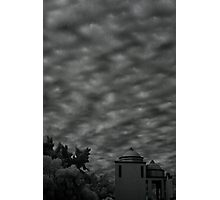 sunset on serdan street Photographic Print
