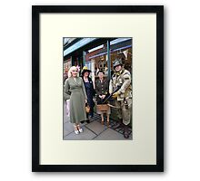 The Pickering War Weekend 2011 16 Framed Print