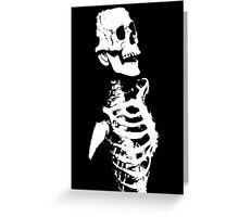 Skeleton Greeting Card