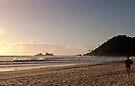 Early Surfer at Broken Head by Odille Esmonde-Morgan