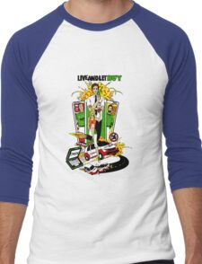 Live and Let Buy Men's Baseball ¾ T-Shirt
