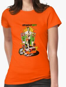 Live and Let Buy Womens Fitted T-Shirt