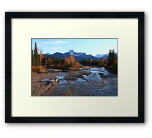 Autumn in the Rockies II Framed Print