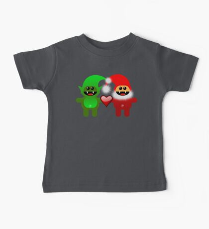 SANTA&LITTLE HELPER Baby Tee