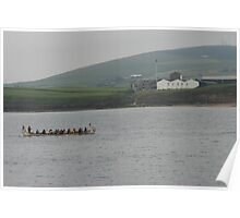 Safely at Scapa Poster