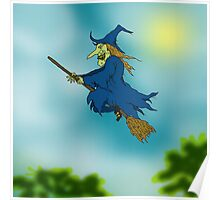 Blue sky Witch. Poster