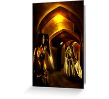 Dance into the light Greeting Card