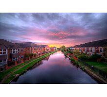 Suburban Sunrise Photographic Print
