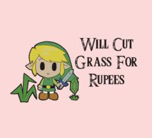 Link Will Cut Grass For Rupees Kids Clothes