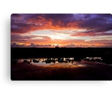 H.W.'s Over the Lake Canvas Print