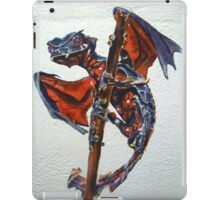 Satanic leaf tailed gecko with wings   iPad Case/Skin