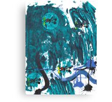 In Lack Of A Better Term - American Monster Mash Reprise Canvas Print