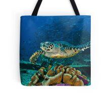 Hawkesbill Turtle Tote Bag