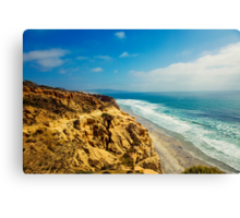 The Ocean Hills of Torrey Pines Canvas Print