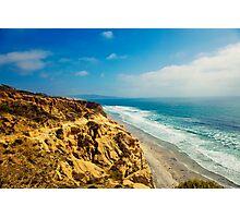 The Ocean Hills of Torrey Pines Photographic Print