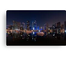 Dubai Marina Yacht Club Canvas Print