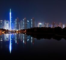 Jumeirah Islands Panorama by Sebastian Opitz