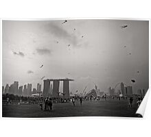 Day of the Kites - Singapore Poster