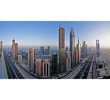 Sheikh Zayed Road Photographic Print