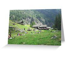 ai piedi del monte Rosa, Alagna, Italy-EUROPA....a MAURIZIO -4000 VISUALIZZ. 2013 featured in italy 500+ ...& FEATURED RB EXPLORE 24 OTTOBRE 2011  && Greeting Card