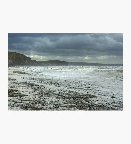 The Wind Blew In From Ireland.. Photographic Print