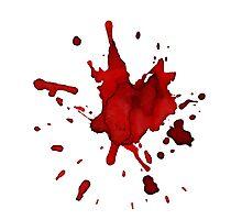 halloween blood  Photographic Print