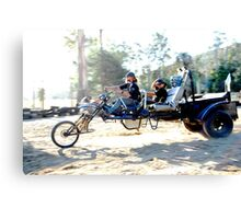 a carriage / bike /  trike ,  whateva ,  the one to be on  Canvas Print