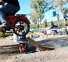 a postie bike and itz capabilities  by twistwashere
