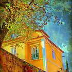 Sintra yellow house by tereza del pilar