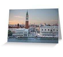 Port of Call: Venice Greeting Card