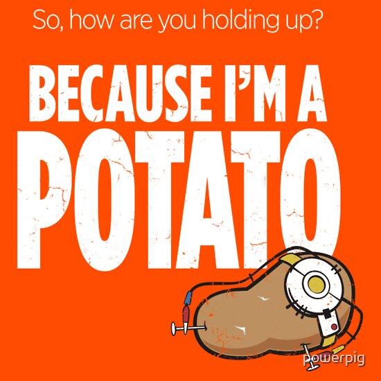 TShirtGifter presents: I'm a Potato