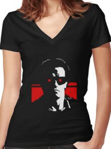 Terminate Women's Fitted V-Neck T-Shirt