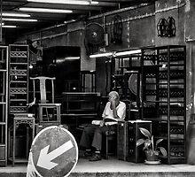 Old-style furniture shop, Hollywood Road, Hong Kong by Cara Gallardo Weil