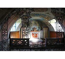 Italian Chapel Photographic Print