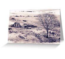 Ruined farmstead Greeting Card
