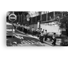 Schoolboys, Hong Kong Canvas Print